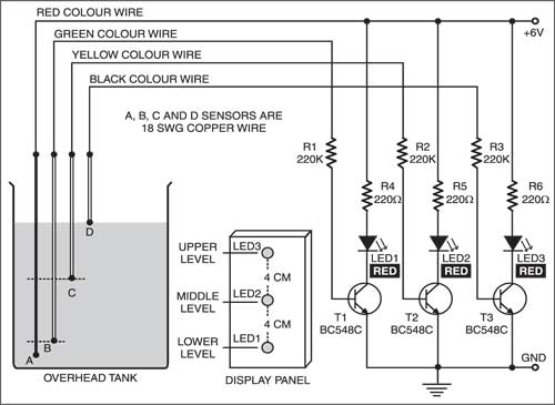 Water Level Sensor Wiring Diagram - Wiring Diagram Directory on