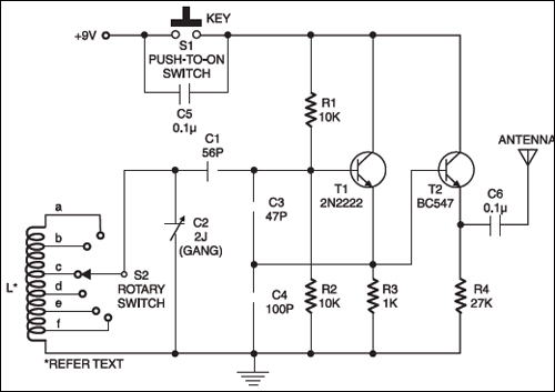 Multiband Transmitter | Detailed Circuit Diagram Available on