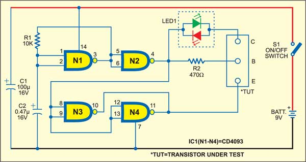 An Easy Transistor Tester
