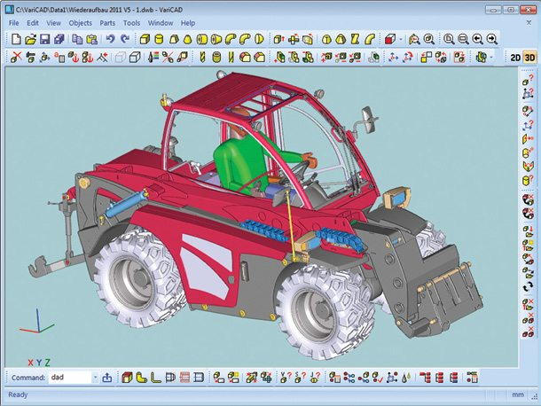 varicad 3d2d cad software electronics for you