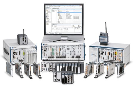 PXI platforms by National Instruments
