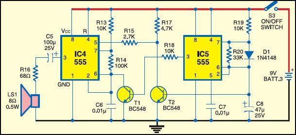Fig. 3: Sound generator