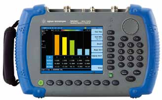 N9344C handheld spectrum analyser