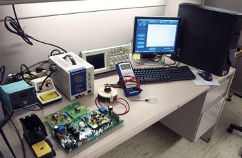 A modern lab set-up