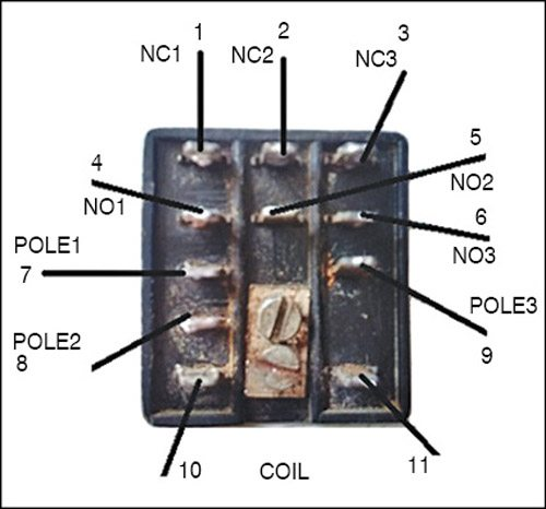 Fig. 3: Details of the 3C/O relay