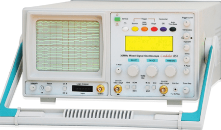 Scientech's Caddo 851 mixed-signal oscilloscope