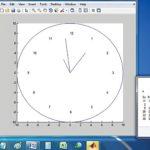 Analogue Clock Using MATLAB