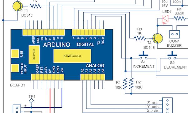 Earthquake Indicator Using Arduino | Circuit with Full