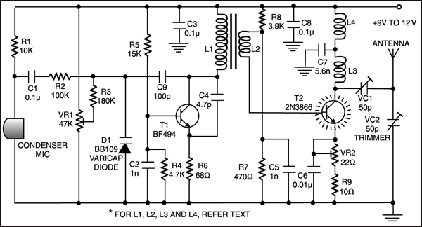 Super Long Range Fm Transmitter Full Circuit Diagram With Explanation Wiring 101 Tzicihahutechinfo