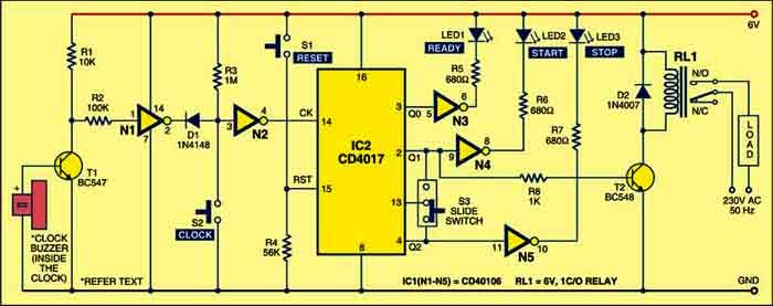 Digital Timer Enhancement | Detailed Circuit Diagram Available