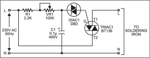 Soldering Iron Temperature Controller | Full Project Available on printed circuit board schematics, electronics schematics, engineering schematics,