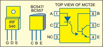 Solidstate Relay Detailed Circuit Diagram Available