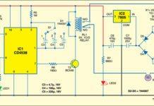 IR based light control: Receiver circuit
