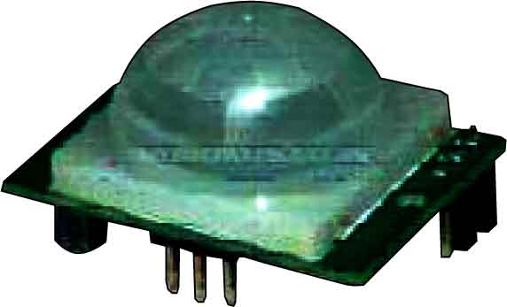 Fig. 2: PIR motion detector module (BS1600 or BS1700