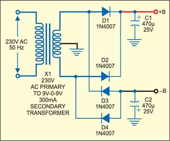 Water Tank Overflow Indicator | Detailed Circuit Diagram Available