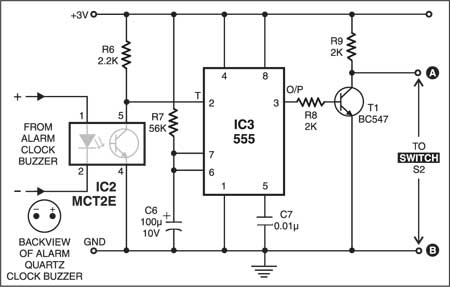 Fig. 2: Voice control circuit