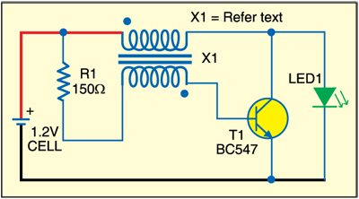 Fig. 1: Circuit to keep Ni-Cd away from memory effect