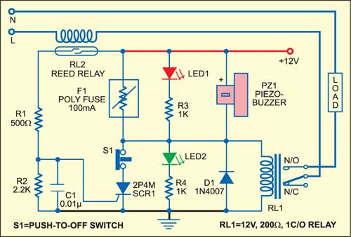 electronic fuse circuit detailed circuit diagram available rh electronicsforu com hrc fuse circuit diagram electronic fuse circuit diagram