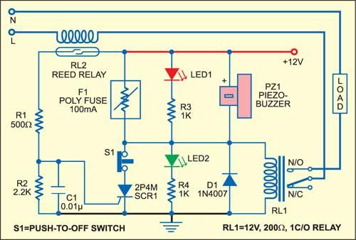 electronic fuse circuit detailed circuit diagram available 2001 F150 Fuse Diagram Electronic Fuse Diagram #7
