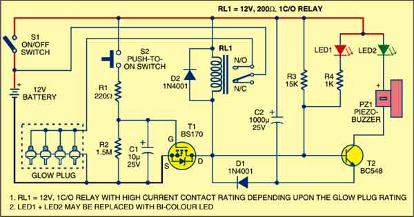 GLOW PLUG CONTROLLER | Electronics For You