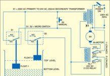 water pump controller circuit