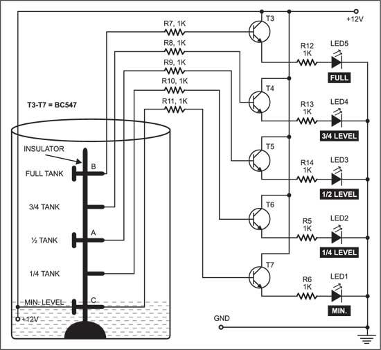 Fig. 2: Indicator/monitoring circuit