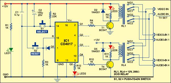 digital audio input selector electronics for you