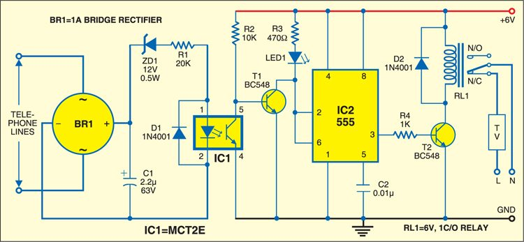 Fig. 1: Auto-muting circuit
