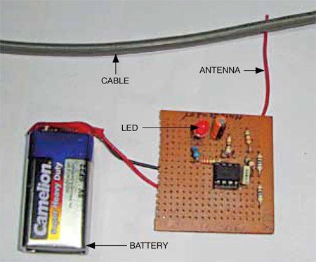 Fig. 4: Author's prototype