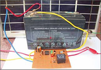 Hybrid Solar Charger | Full Circuit Diagram with Explanation