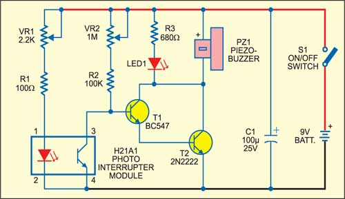 Smoke Detector Circuit Diagram | Simple Smoke Detector Detailed Circuit Diagram Available