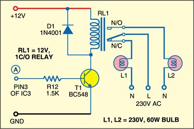 Optional circuit for high power requirement