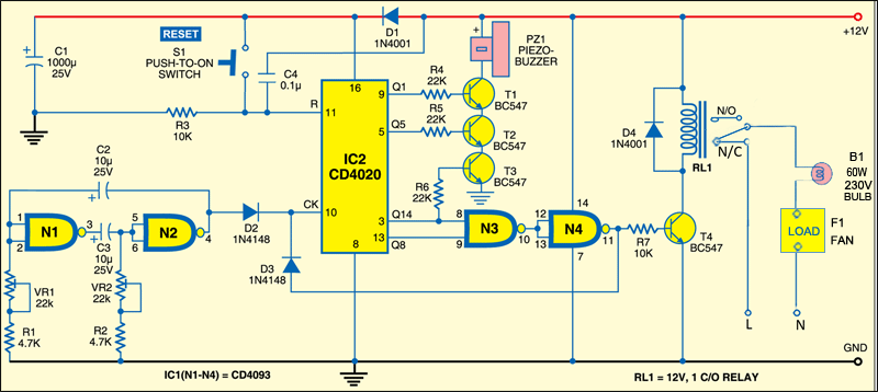 Anti Sleep Alarm Circuit