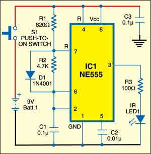 IR Remote Control For Home Appliances | Full Circuit With