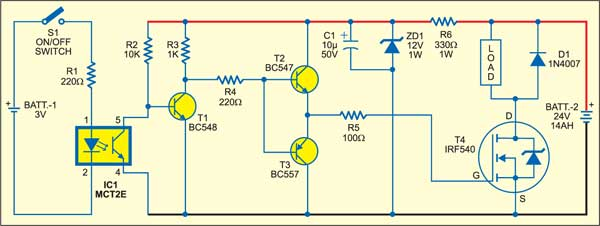 solid state relay detailed circuit diagram available rh electronicsforu com solid state relay circuit diagram and operation