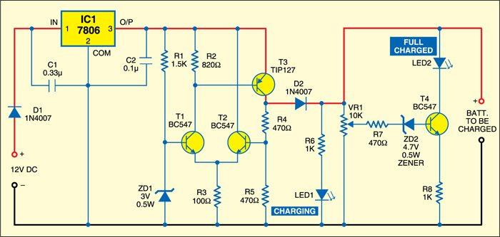 on og digital schematic diagram