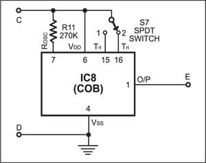 Fig. 7: The COB circuit for 2-mantra player