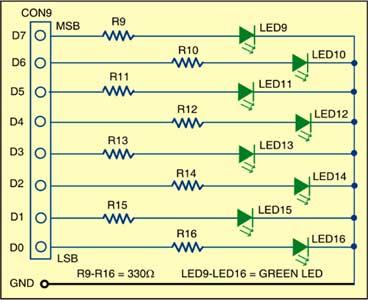 Fig. 2: Display circuit