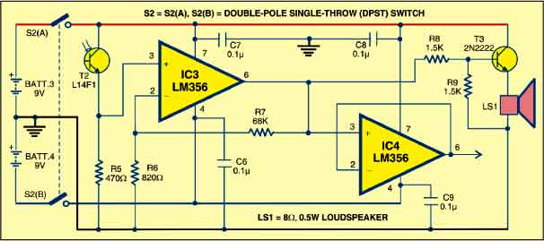 laser communication system detailed circuit diagram availableLaser Communication System Circuit Diagram The Circuit Module #6
