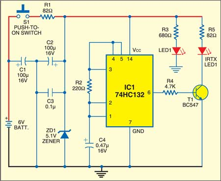 Electromagnetic Relay Driver | Detailed Project Available