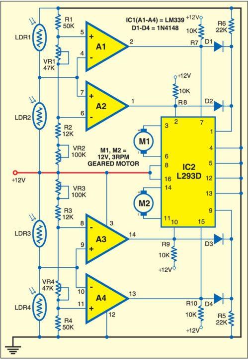 be fig jpg solar tracker circuit diagram ireleast info solar tracker circuit diagram the wiring