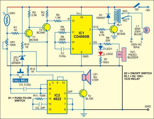 Mock alarm circuit