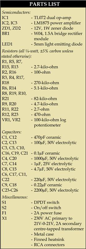 Subwoofer Amplifier Circuit | Detailed Circuit Diagrams
