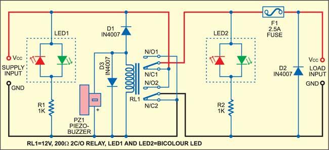 Power Supply Reversal Correcter cum Preventer