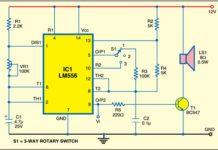 Triple mode tone generator circuit