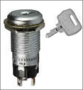 Fig. 4: Key-lock type switch