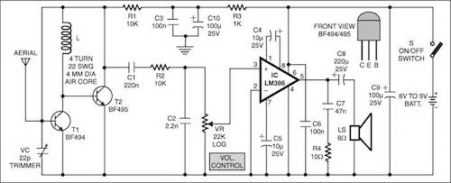 Electronic Volume Limiter Circuit Diagram Project - Wiring Diagram All