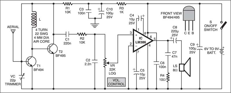 Simple Fm Receiver moreover Walk In Freezer  pressor Schematic Diagram furthermore 75930 Alternator Wiring Harness Diagram also Gas Leak Detector Circuit additionally Diy Can Transceiver. on radio control schematics