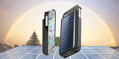 Solar Battery Charging Indicator