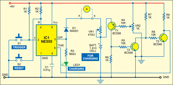 Automatic Switch Off Battery Charger Full Project Available